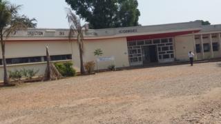 Un bâtiment de l'Université du Burundi