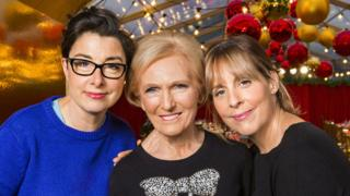 Sue Perkins, Mary Berry and Mel Giedroyc
