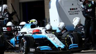 ROKiT Williams F1 racing team