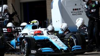 ROKiT Williams F1 racing team