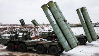 منظومة صواريخ أس-400 الروسية