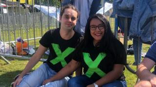 Daniel Fuxa and Elizabeth Lara Villacis