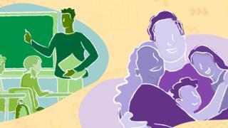 ilustração de Educação & Família