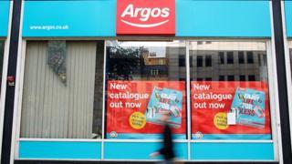 Argos shopfront