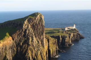 Danielle Willox walked up to the Neist Point on Skye