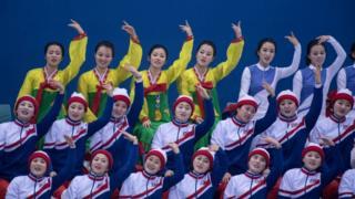 उत्तर कोरियाई चीयरलीडर