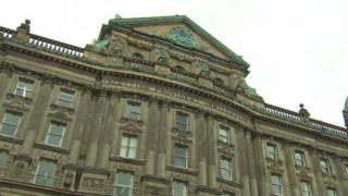 The Scottish Provident Building in Belfast city centre