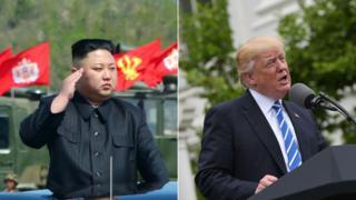"""آقای ترامپ پیشتر رهبر کره شمالی را """"آدم خیلی زرنگی"""" خوانده بود"""