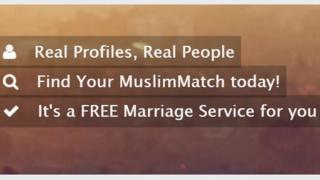 Screen grab of MuslimMatch.com