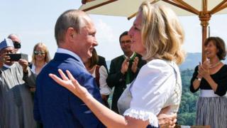 Путин и Кнайсль
