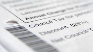 Council tax bill generic