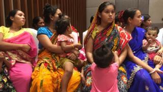 ဟိန္ဒူအယောက် ၄၄၄ ဦး ဘင်္ဂလားဒေ့ရှ်ဘက်က ဒုက္ခသည်စခန်းတွေမှာ ရှိနေတယ်လို့ ဟိန္ဒူအရေးလှုပ်ရှားတဲ့အဖွဲ့တွေပြော