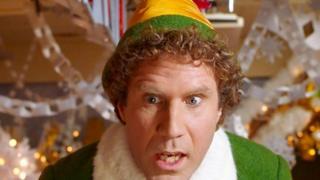 Will Ferrell in Christmas film Elf