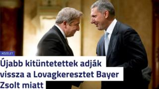 Screengrab from Hungarian news website 24.hu