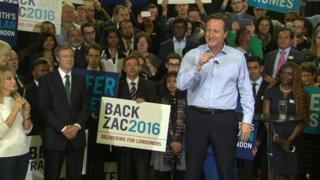 David Cameron (right) and Zac Goldsmith