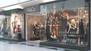 M&Co store