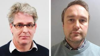 Peter Lewis and Richard Moxon