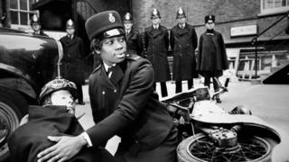 Sislin Fay Allen was the first ever black female officer.