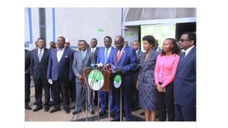 Abakuru b'imigambwe ihurikiye mu runani NASA bipfuza gukura ubutegetsi bwa Uhuru Kenyatta
