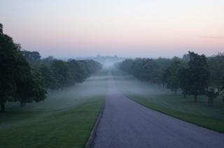 Sunrise over Windsor Castle