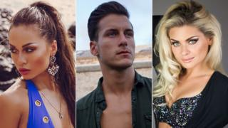Katya Jones, Gorka Marquez and Oksana Platero