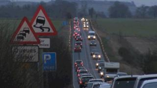 Congestion on the A303