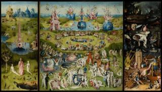 Quadro 'O Jardim das delícias terrenas', de Hieronymus Bosch