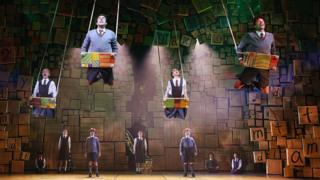 Matilda the Musical stage show