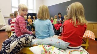 फ़िनलैंड का एक प्राइमरी स्कूल