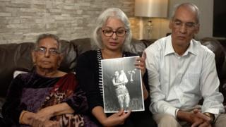Kulvinder Randhawa and parents