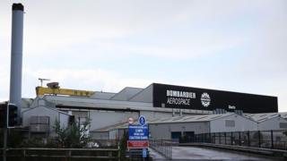 Bombardier in Belfast