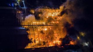 North Belfast fire