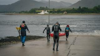 Across Scotland Swim