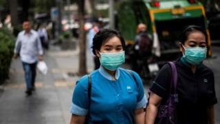 Partikel debu menyebabkan pembengkakan paru.