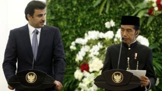 يزور أمير قطر اندونيسيا التي تعد اكثر الدول الاسلامية سكانا