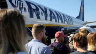environment Ryanair passengers