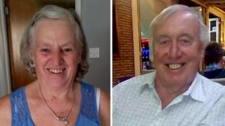 Christine Chapman and Stephen Harris