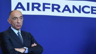 Air France-KLM CEO Jean-Marc Janaillac. File photo