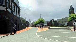 Artist impression for Peel Regeneration