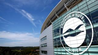 Brighton & Hove Albion v Aston Villa: Two arrested after game
