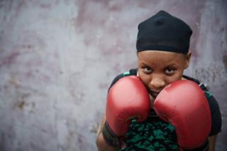 Portrait of Dorcas Lukamba.
