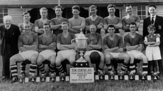 Ton Pentre FC in 1958