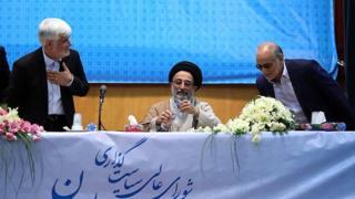 حسین مرعشی، عبدالواحد موسوی لاری و محمدرضا عارف