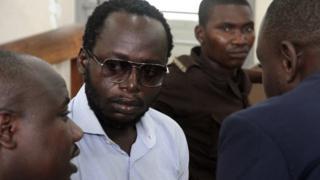 Erick Kabendera in court