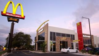 McDonald's restaurant in Curacao
