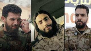 عثرت بي بي سي علي صور ومقاطع فيديو تتهم القوات التابعة للعسكري الليبية حفتربجرائم حرب ضد مسلحيين ومدنيين.