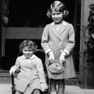 Princess Margaret and Princess Elizabeth