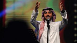Majid al-Mohandis akitumbuiza mjini Jeddah mwaka jana