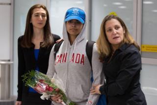 Дівчина прибула до Канади з Сеула