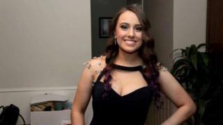 Krystal Eve Browitt, 21, in a photo taken from her Facebook page